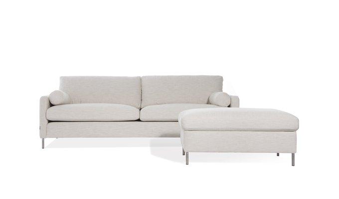 Прямой диван Colorado белого цвета