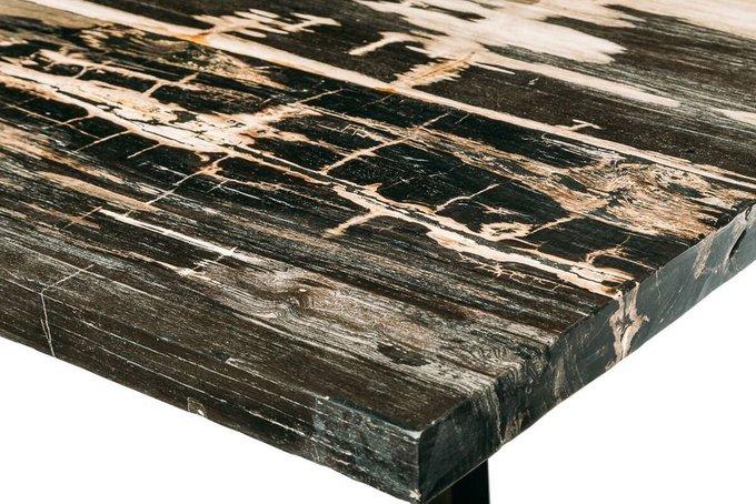 Обеденный стол Солар из окаменелого дерева 381377