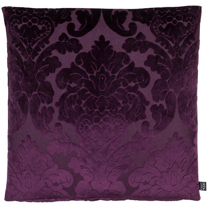 Декоративная подушка Chateau фиолетового цвета