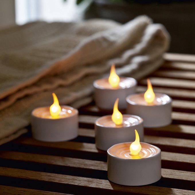 Набор из 6 светодиодных свечей LONE