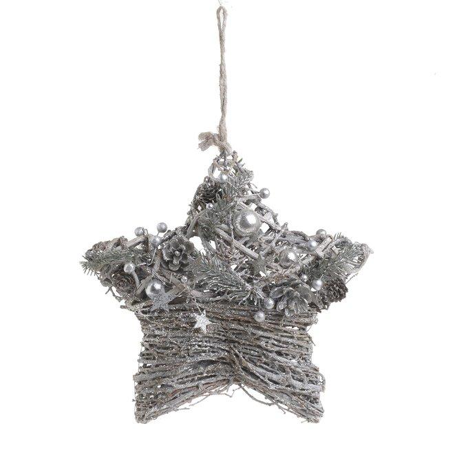 Декор подвесной Новогодняя звездочка