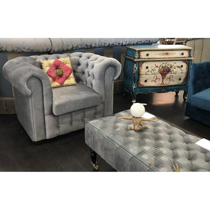 Кресло Бергамо в светлых тонах