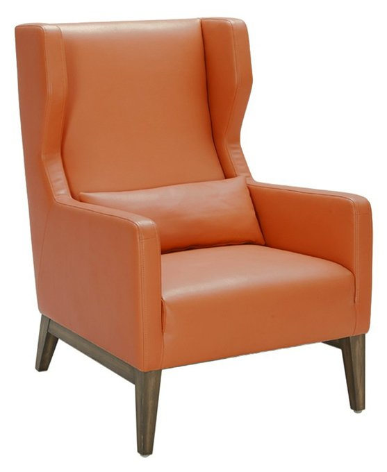 Кресло Andrew оранжевого цвета