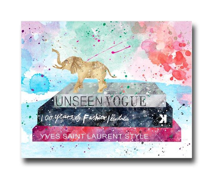 "Постер ""Unseen Vogue"""