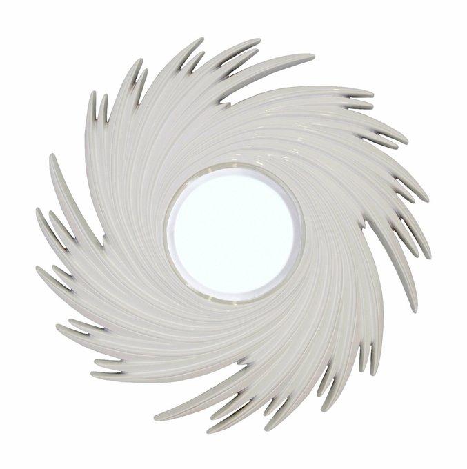 Зеркало Tornado white
