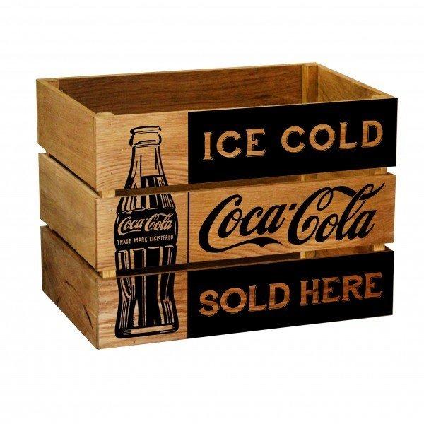 Ящик Coca-cola из массива дуба