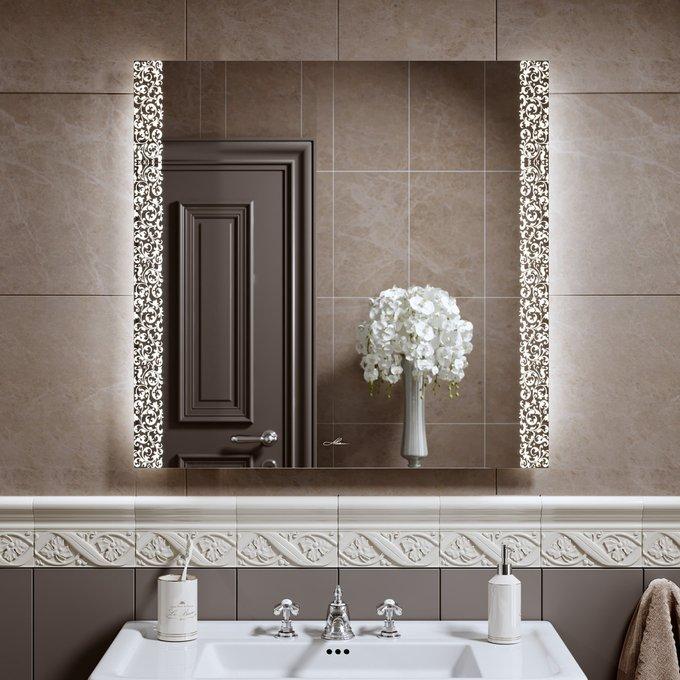 Зеркало с подсветкой Delveto 80