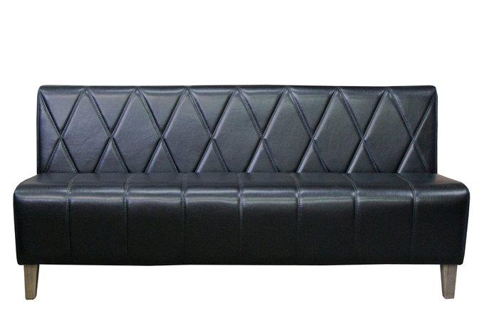 Диван Cuori черного цвета