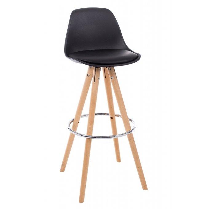Барный стул Flor из массива бука