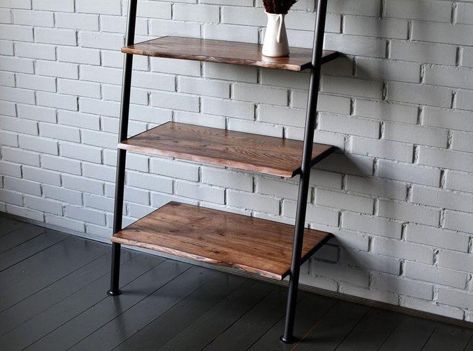 Стеллаж Ladder с деревянными полками