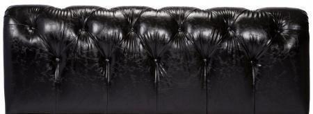 Кровать Adelle Черная Экокожа 160х200