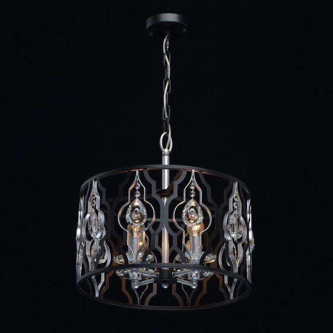 Подвесная люстра Альгеро с хрустальными элементами