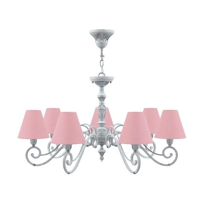 Подвесная люстра Classic с розовыми плафонами