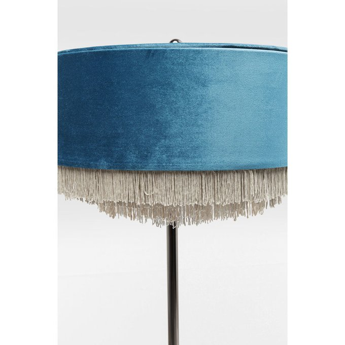 Торшер Tassel синего цвета