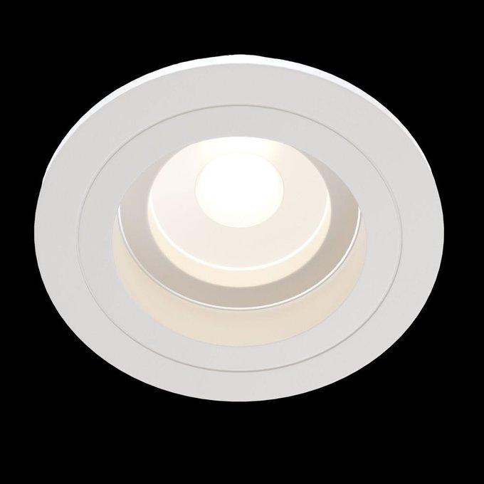 Встраиваемый светильник Akron белого цвета
