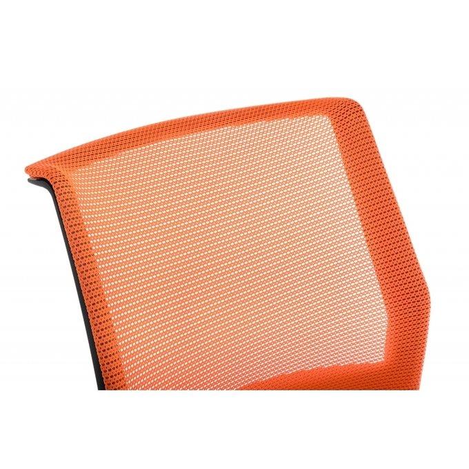 Стул Zola черно-оранжевого цвета