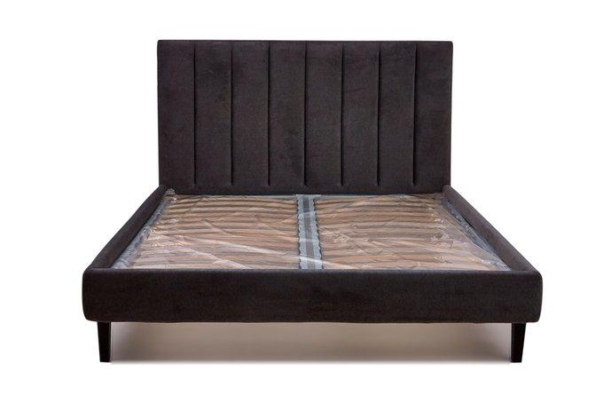 Кровать Клэр темно-коричневого цвета 160х200