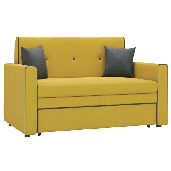 Диван-кровать Найс горчичного цвета