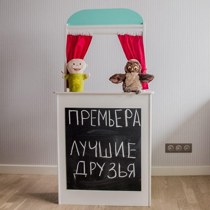 Кукольный театр, кафе, банк, магазин