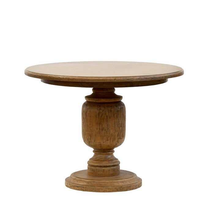 Стол Leslie Center Table из массива махагона