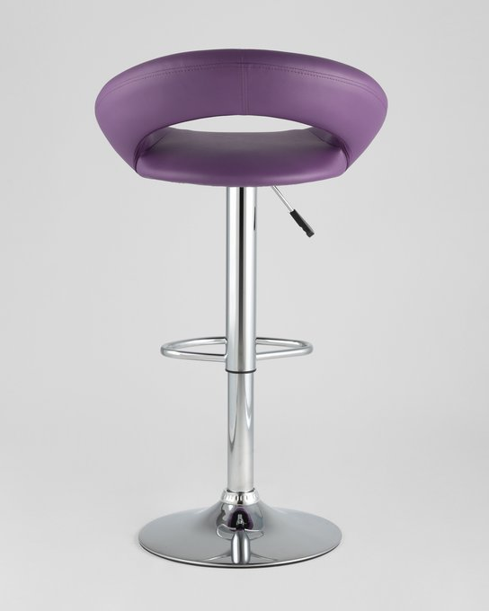 Стул барный Купер фиолетового цвета