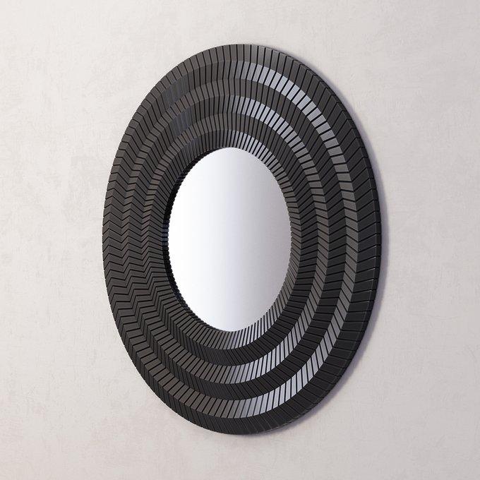 Зеркало Millennium Black в черной раме