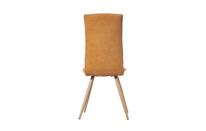 Комплект из двух обеденных стульев Аполо желтого цвета