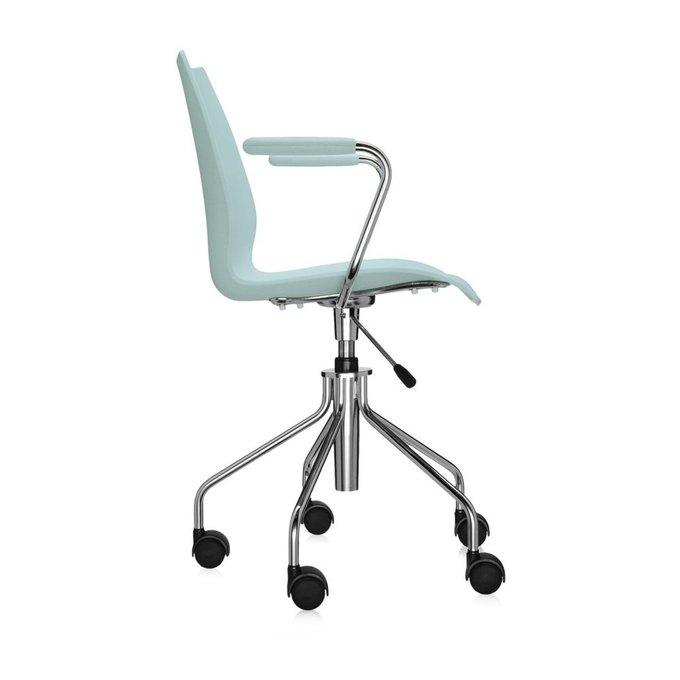 Офисный стул Maui светло-голубого цвета