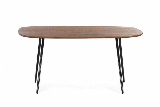 Обеденный стол Isla коричневого цвета