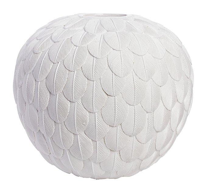 Декоративная ваза Elegant White I