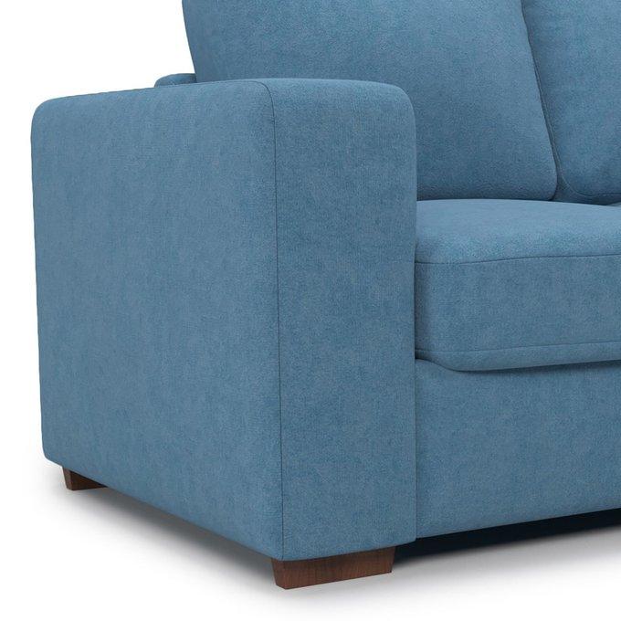 Раскладной диван Morti SFR  двухместный синего цвета
