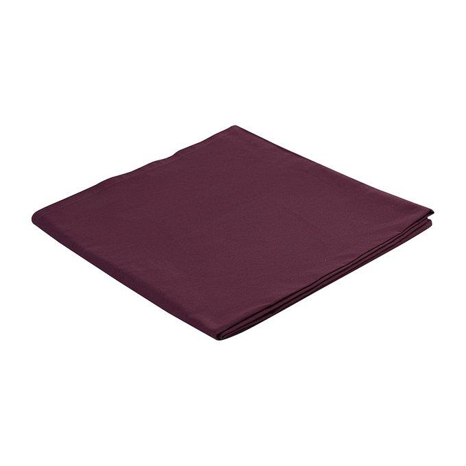 Скатерть на стол Wild бордового цвета 170х170
