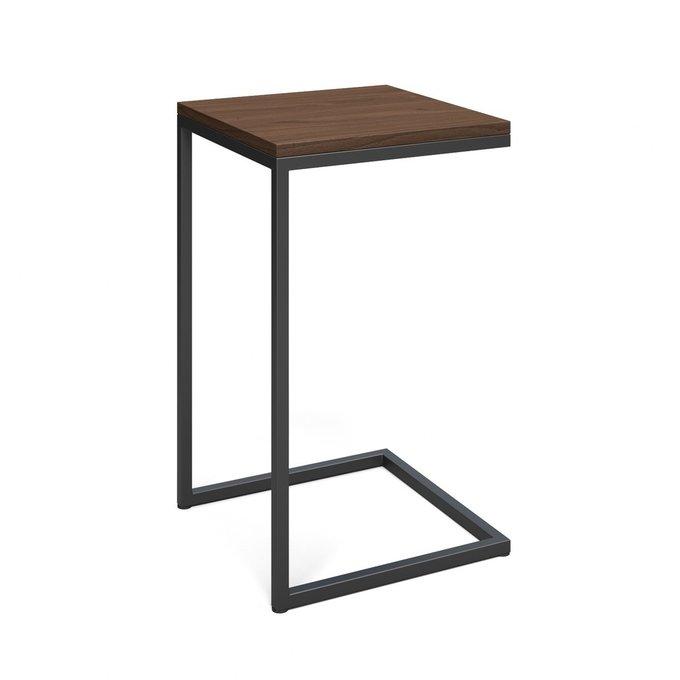 Приставной столик Джейн коричневого цвета