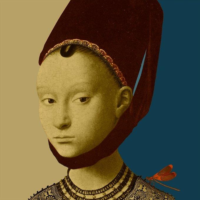 """Портрет """"A lady by Christi"""""""