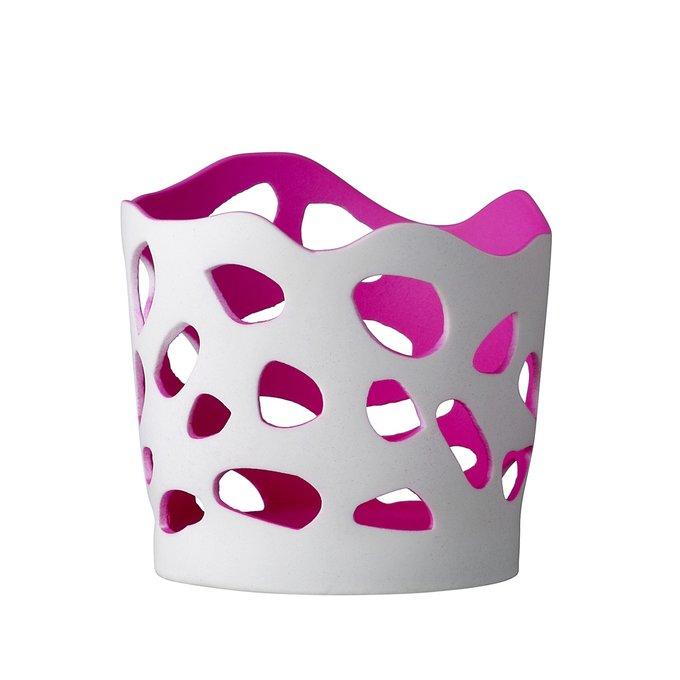 Подсвечник Pink Glow из керамики