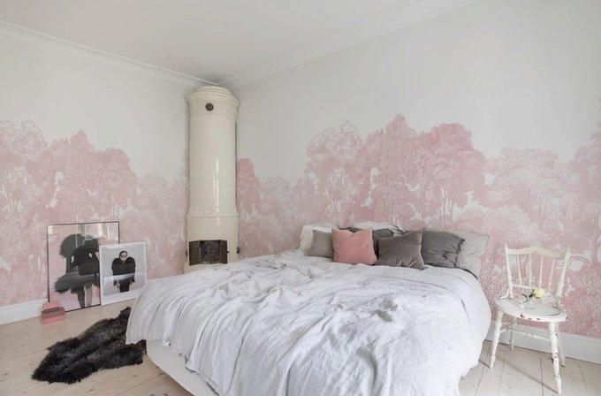 Дизайнерские обои Bellewood Pink