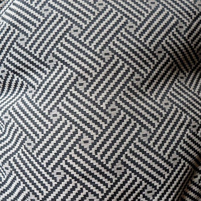 Кресло-мешок Цветок L Монохром