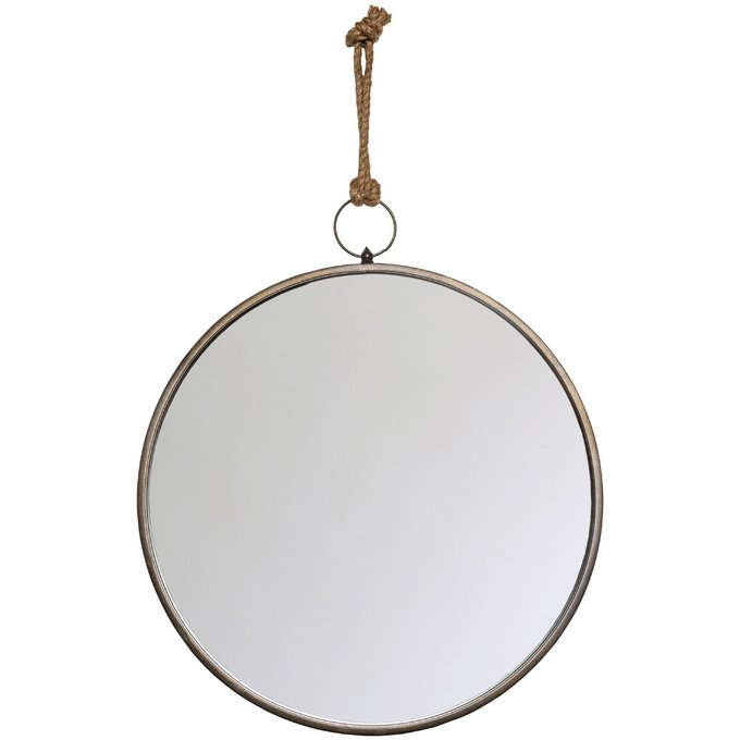 Настенное зеркало Эллада в металлической раме