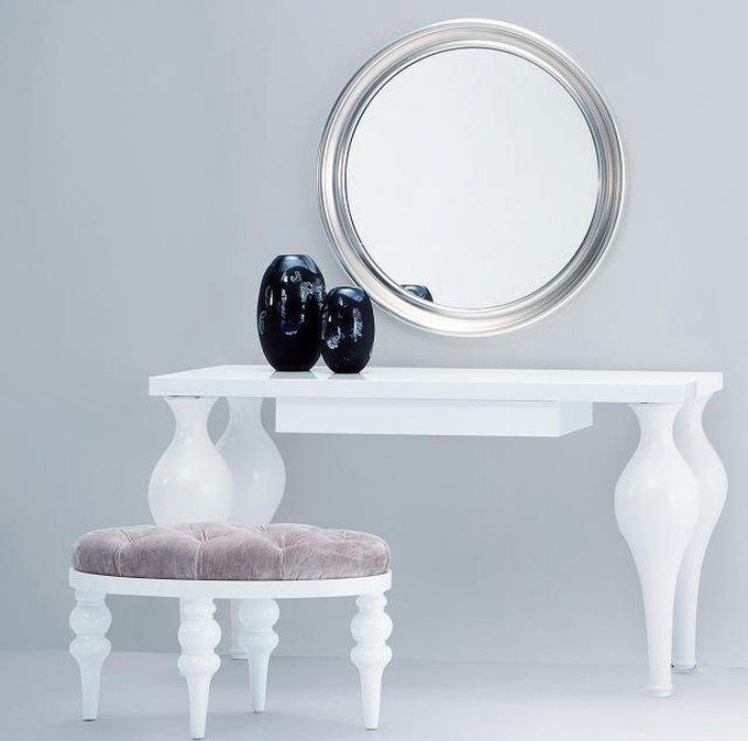Туалетный столик Palermo белого цвета