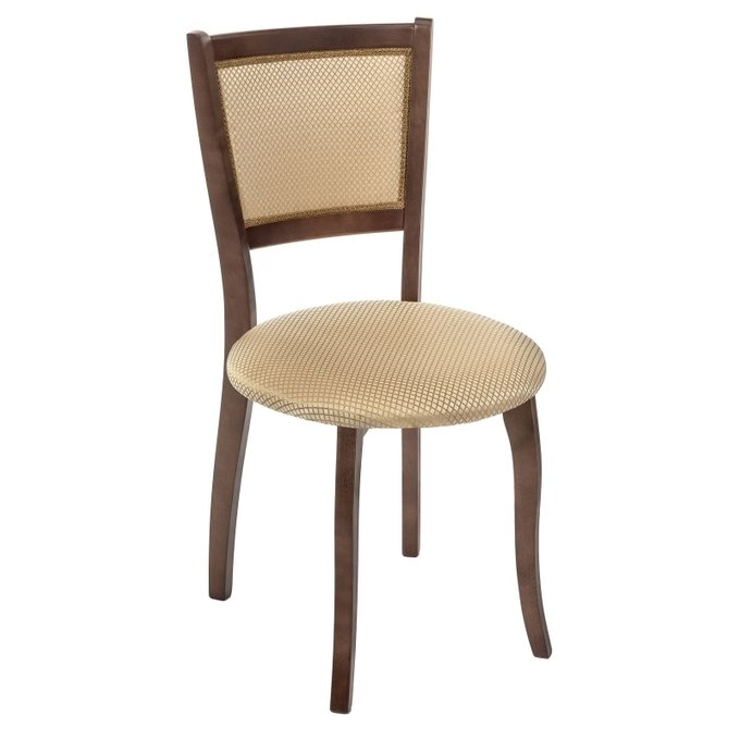 Обеденный стул Валери из массива цвета орех