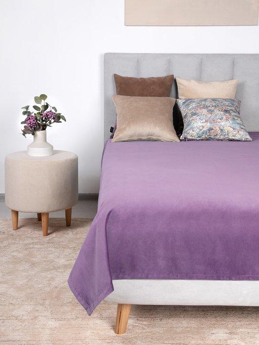 Покрывало Uno Dandy Orchid 140х210 лилового цвета