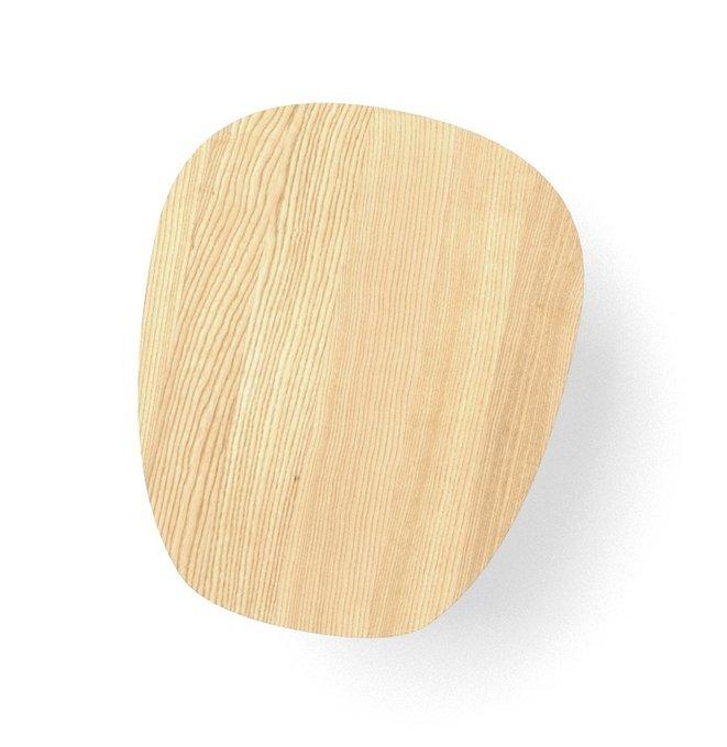 Журнальный стол River Round цвета натуральный дуб