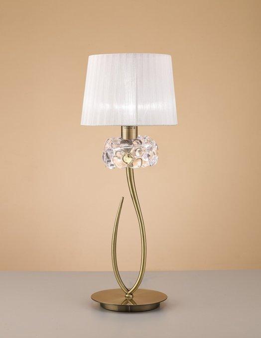 """Настольная лампа Mantra """"Loewe"""""""