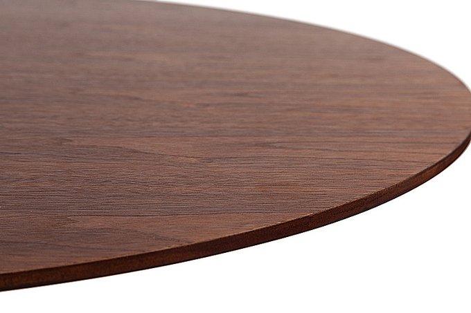 Обеденный стол с деревянной столешницей Saarinen Dining Table