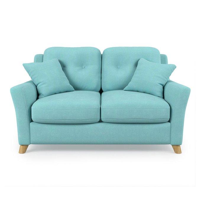 Диван-кровать Raf SF двухместный голубого цвета