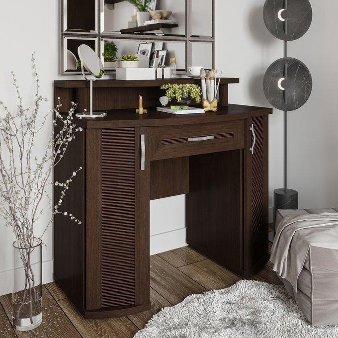 Туалетный столик Магна темно-коричневого цвета