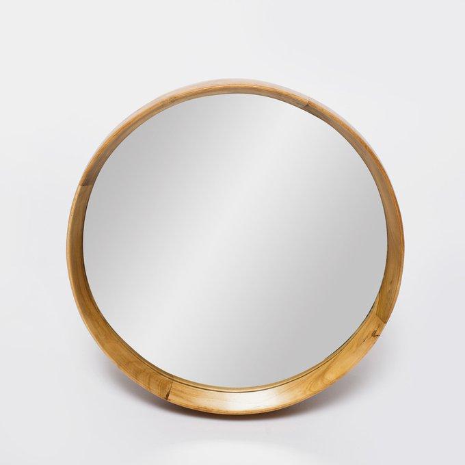 "Настенное Зеркало круглое Teak&Water ""Hasta 40"""