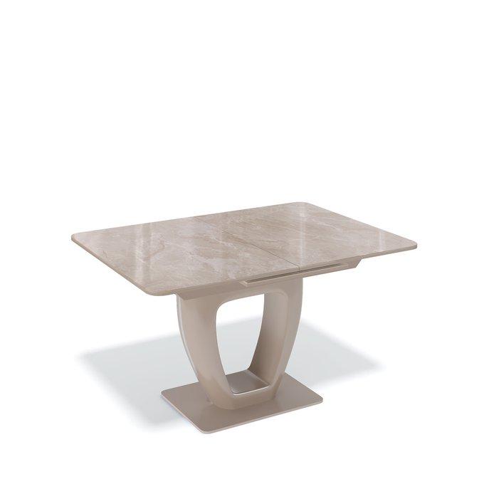 Стол обеденный Bellami раскладной цвета капучино