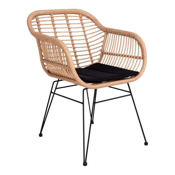 Кресло Trieste на стальных ножках c подушкой
