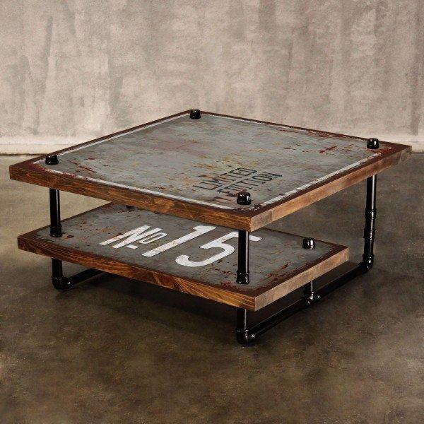 Журнальный столик Grange в стиле Лофт